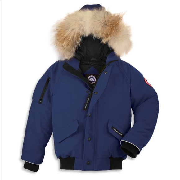 Pacific Blue Canada Goose Bomber